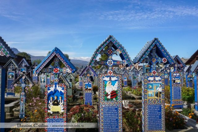 Cimitirul Vesel Maramures
