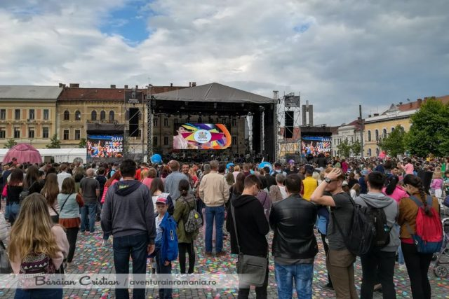 Zilele_Clujului_Piata Unirii