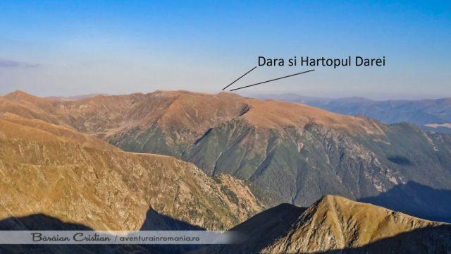 Vârful Hârtopul Darei