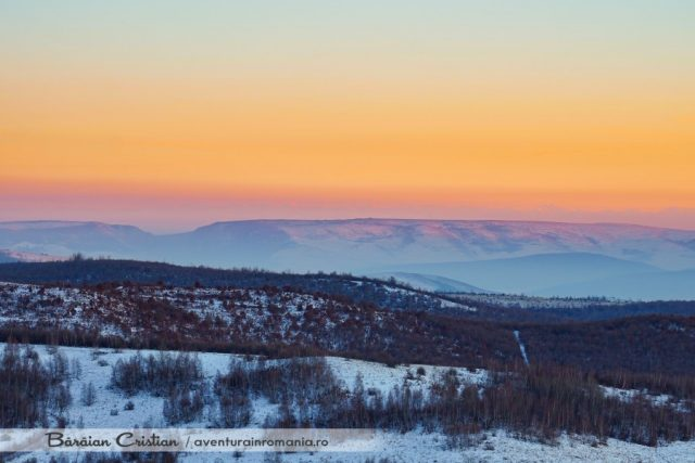 Munții Făgăraș vazuti din Cluj