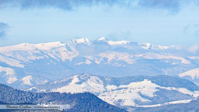 Munții Rodnei văzuți din Călimani